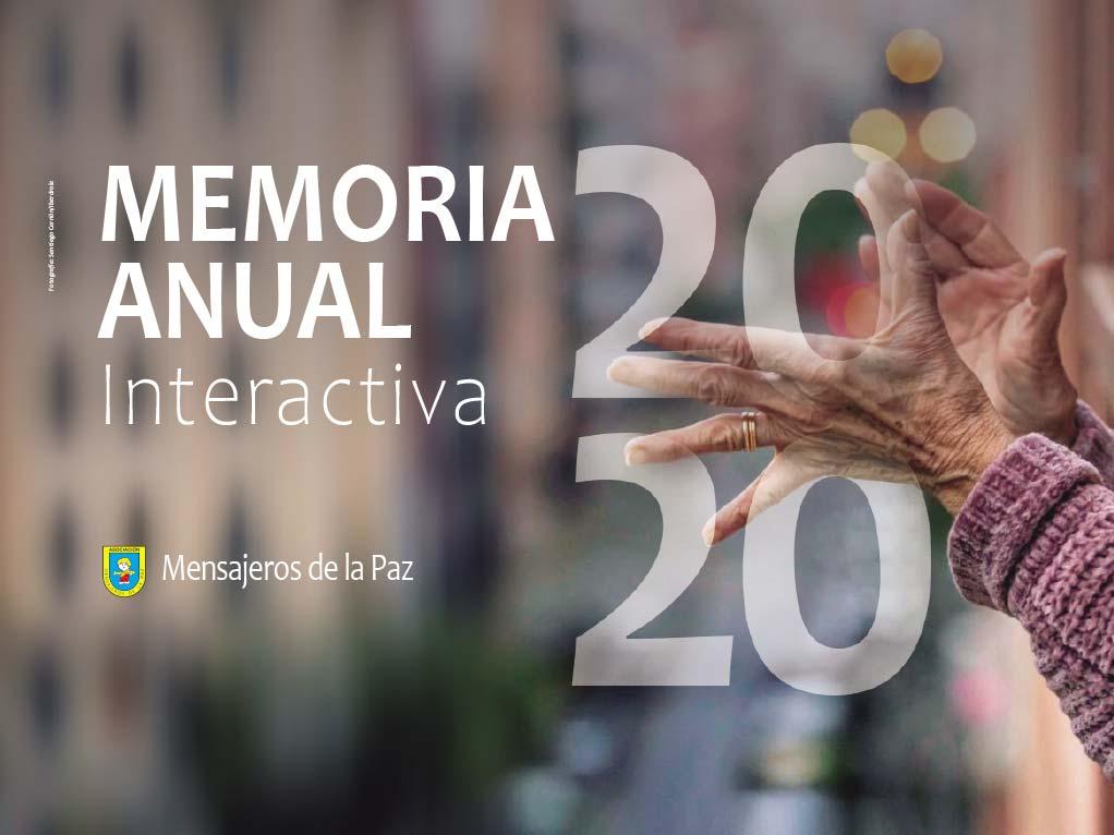 memoria anual mensajeros de la paz