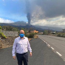 Sergio Mella en La Palma