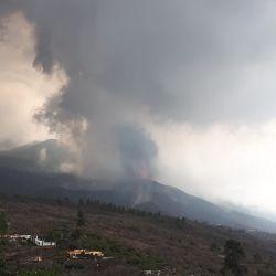 Se intensifica la erupción